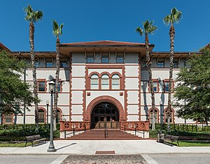 Flagler College - Image: Proctor Library, Flagler College, St. Augustine FL, East view 20160707 1