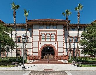 Flagler College - Image: Proctor Library, Flagler College, St. Augustine FL, East view 20160707 1