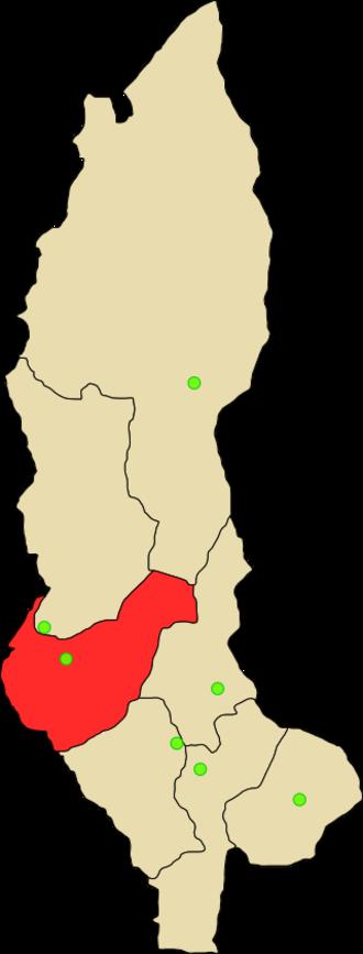 Utcubamba Province - Image: Provincia de Utcubamba
