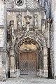 Provins - église Sainte-Croix - portail occidental, bas-côté nord 01.jpg