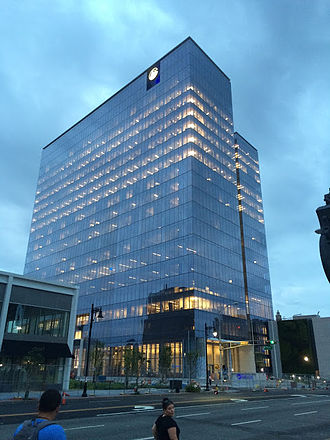 Prudential Headquarters - Image: Prudential Tower Complete