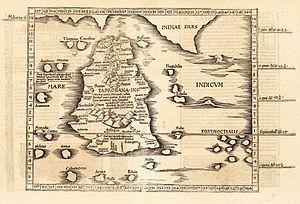 Ptolemy's Taprobana