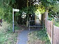 Public footpath from Old Chapel Road - geograph.org.uk - 984993.jpg