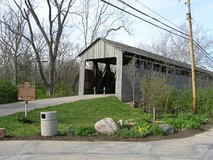 Oxford, Ohio - Pugh's Covered Bridge or Black Bridge