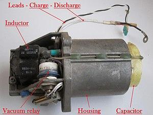 Pulse forming network - A pulse forming network for an Nd:YAG laser rangefinder.