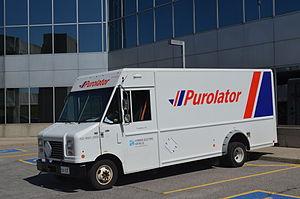 Purolator Inc. - A Purolator hybrid electric vehicle