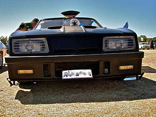 car driven by Mad Max in the film franchise