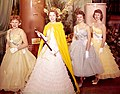 Puyallup Daffodil Queen and court, 1959 (51321148117).jpg