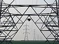 Pylon Chain, Oare Marshes - geograph.org.uk - 421103.jpg