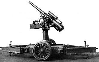 QF 12-pounder 12 cwt AA gun - Image: QF12pdr 12cwt A Aplatform