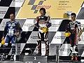 Qatar Moto2 podium 2010.jpg