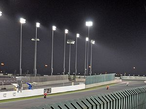 Losail International Circuit - Image: Qatar Moto GP 2010