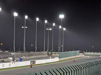 Losail International Circuit - Image: Qatar Moto GP 2010