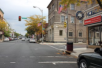 Quakertown, Pennsylvania - Broad Street in Quakertown