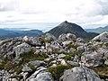 Quartzite boulder field, An Ruadh-stac - geograph.org.uk - 230069.jpg
