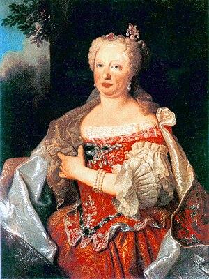 Queen Maria Anna von Österreich