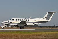 RAAF Raytheon King Air 350 (B300) Avalon Vabre.jpg