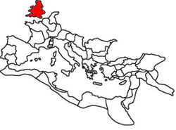Location of Roman Britain
