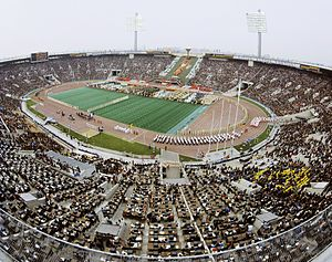 Football at the 1980 Summer Olympics - Image: RIAN archive 487039 Opening ceremony of the 1980 Olympic Games