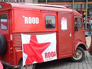 ROOD - ROOD campaigning van