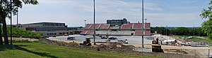 RPI Engineers - East Campus Athletic Village, under construction