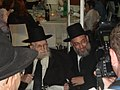 Rabbi Yaacov Haber with his teacher, Rav Chaim P. Scheinberg.JPG
