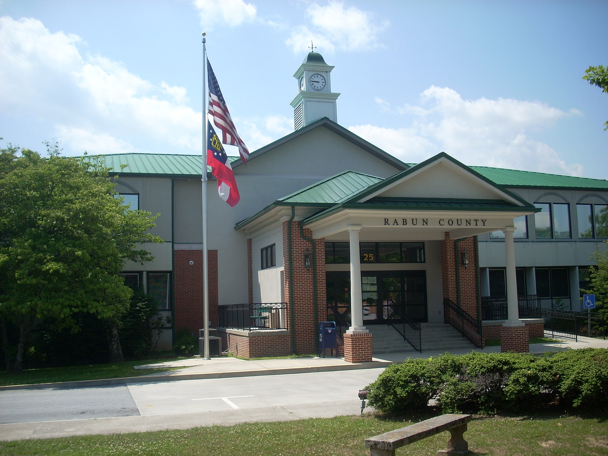 Rabun County Courthouse, Clayton, Georgia