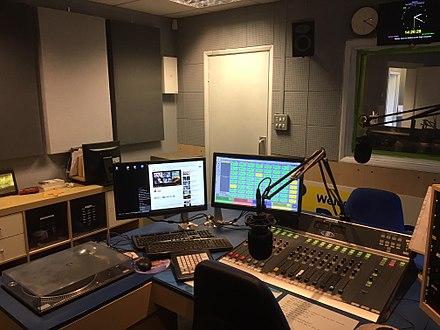 Studio 2 at Radio Wey