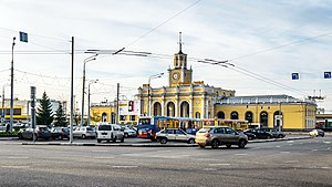 Railway Station Square of Yaroslavl