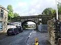 Railway bridge on Clifton Street - geograph.org.uk - 991899.jpg