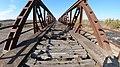 Railway bridge on the former Perivolaki – Nea Zichni line near Myrkinos.jpg