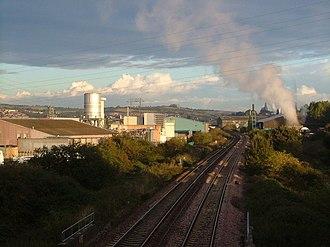 Marsh Barton - The Riviera Line through Marsh Barton