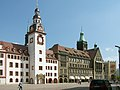Rathaeuser in Chemnitz.jpg