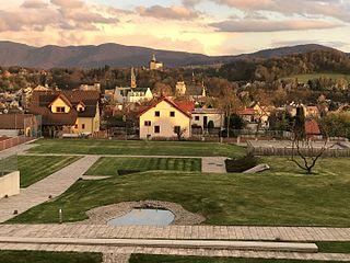 Frýdlant Town in Liberec, Czech Republic