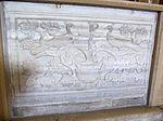 Ravenna, sant'apollinare nuovo, int., transenna marmorea 01.JPG