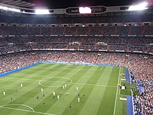 Match between Rosenborg and Real Madrid at Estadio Santiago Bernabéu