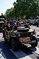 Reconstitution d'une jeep Willis des parachutistes SAS français de la Libréation de Paris en août 1944.jpg