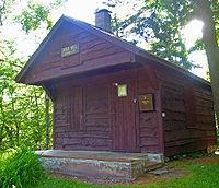 Red Hill fire observer's cabin.jpg