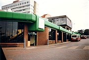 The former Redditch Bus Station, circa 1996