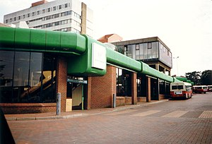 Redditch - The former Redditch Bus Station, circa 1996