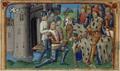 Reddition de Fougères devant l' armée de François Ier, duc de Bretagne - Vigiles de Charles VII.png