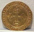 Regno di napoli, carlo V imperatore, oro, 1516-1556, 07.JPG