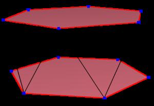 Dodecagon - A regular skew dodecagon seen as zig-zagging edges of a hexagonal antiprism.
