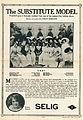 Release flier for THE SUBSTITUTE MODEL, 1912.jpg