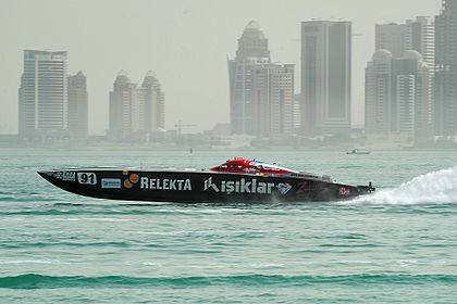 Powerboat races in Doha Bay Relekta (6989973445).jpg