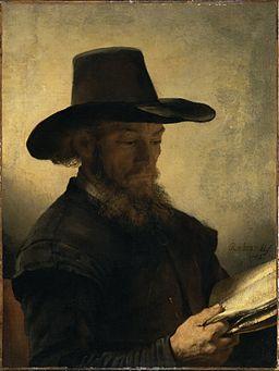 Rembrandt ManReading