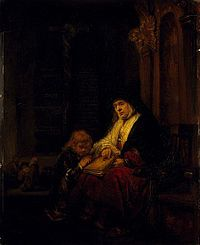 Rembrandt The Prophetess Anna in the Temple.jpg