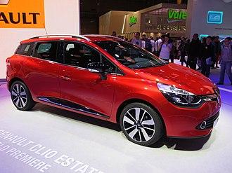 Oyak-Renault - Image: Renault Clio IV Estate Front