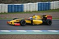 Renault R30 driven by Vitaly Petrov tests at Jerez 2010.jpg