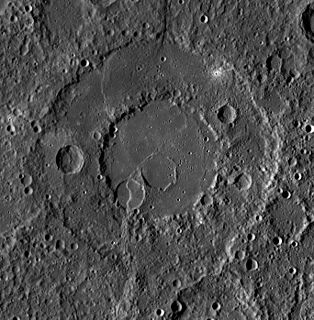 Renoir (crater) crater on the planet Mercury